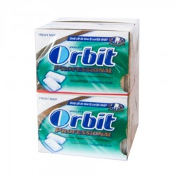 GUMA MENTHOL ORBIT PROFESSIONAL 168G 12/SET