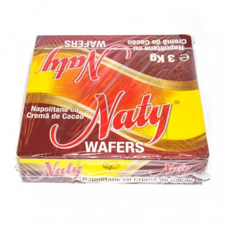 NAPOLITANE CACAO WAFERS NATY