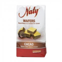 NAPOLITANE WAFERS CACAO NATY