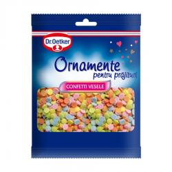 ORNAMENT TORT CONFETTI VESELE 30G