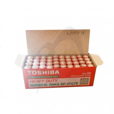 BATERII R6 TOSHIBA 40/SET