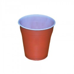 PAHARE PLASTIC BICOLOR SAFIR