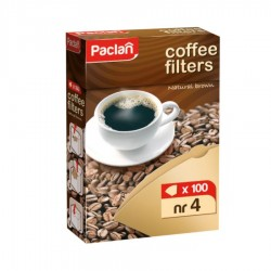 HARTIE FILTRU CAFEA NR 4 PACLAN